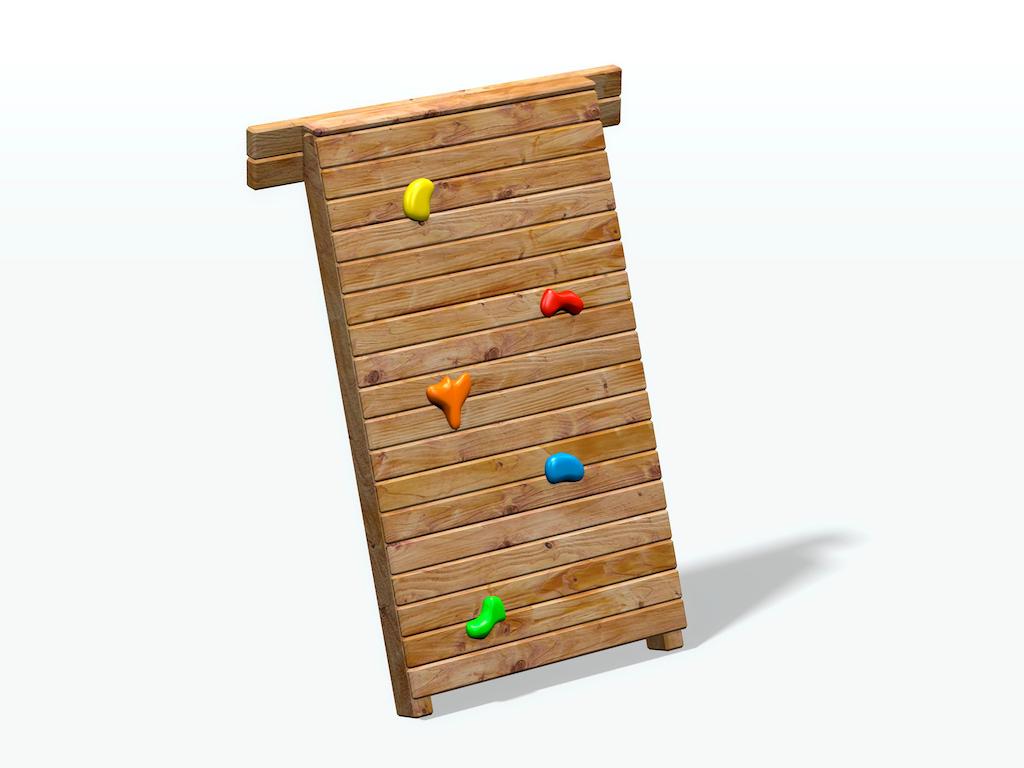 Gut gemocht Kletterwand für Spielturm Max & Moritz AW33