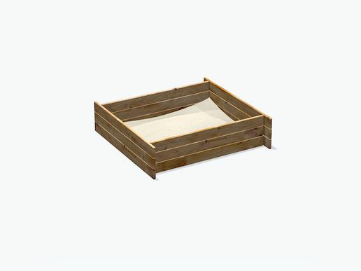 sandkasten f r max moritz spielturm. Black Bedroom Furniture Sets. Home Design Ideas