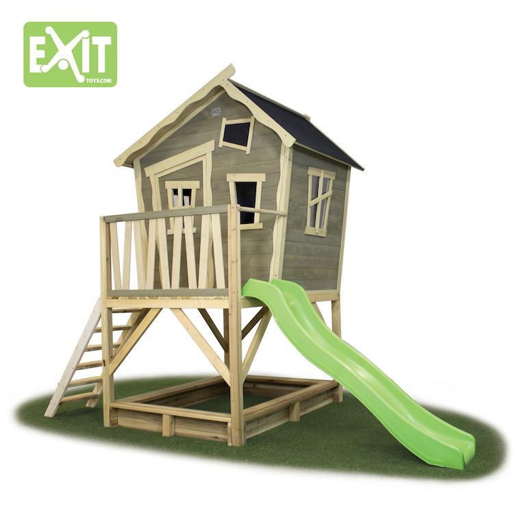 stelzenhaus exit crooky 500 spielgeraete. Black Bedroom Furniture Sets. Home Design Ideas